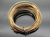 2m巻 1.2mm(#18) コパーワイヤー(真鍮線) ゴールド