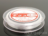 テグス 2号(#2/0.24mm) クリア ×50m巻 徳用サイズ 日本製