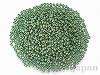2031  2mm 丸小グラスビーズ ×10g【ツヤ消 緑ギョクゴールドラスターAB】