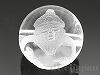 12mm 恵比寿(七福神) 天然水晶