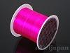 カラーゴム(平/濃いピンク)12m×0.8mm