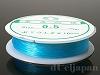 カラーゴム(丸/水色・ライトブルー)0.5mm×12m