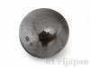 磁気無しヘマタイトパーツ6mm(カボション・穴無し)