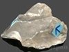 水入り水晶(ナチュラルポイント) 128g