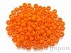 405 4mm 特大シードビーズ ×10g【ライトオレンジ(ギョク)】