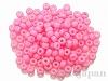 415 4mm 特大シードビーズ ×10g【白ギョク着色ピンク】