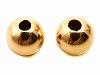 丸玉ビーズ 3mm ×2個 K14YG(イエローゴールド)