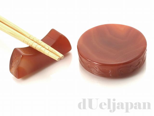 【処分価格】 カーネリアン55×69mm(箸置き兼用)置物×1
