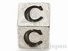 アルファベットパーツ【C】キューブ6mm