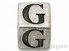 アルファベットパーツ【G】キューブ6mm