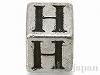 アルファベットパーツ【H】キューブ6mm