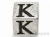 アルファベットパーツ【K】キューブ6mm