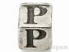 アルファベットパーツ【P】キューブ6mm