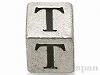 アルファベットパーツ【T】キューブ6mm