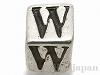 アルファベットキューブ (W) 6×6mm