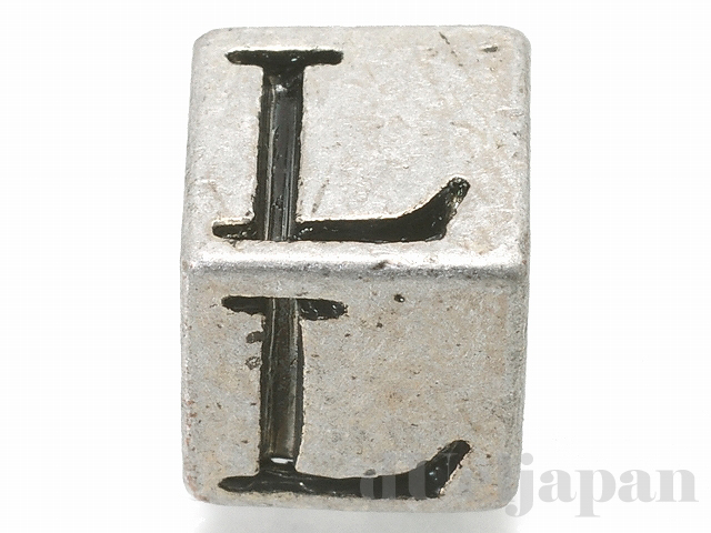 アルファベットパーツ【L】キューブ6mm