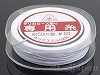 1 #60 デリカビーズ織り専用糸(ホワイト) ×50m