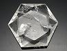 天然水晶(六芒星)カット65×57×15mm