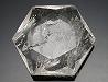 天然水晶(六芒星)カット52×45×17mm