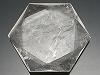 天然水晶(六芒星)カット60×53×10mm