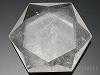 天然水晶(六芒星)カット53×46×12mm