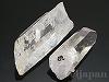 天然水晶原石(ポイント)53mm〜75mm×2個