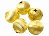 12mm シボリ玉 (ゴールドカラー) ×5個