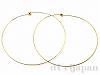 ネックリング 40cm (ゴールドカラー) ×2本
