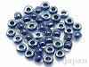 3207 6mmマジックカラーグラスビーズ ×10g【クリスタル中染/ブルー】