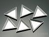 アルミ製三角トレイ 72×83×8.5mm ×6個