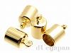 カン付カツラ 内径約5.5mm (ゴールドカラー) ×4個