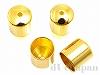 カツラ 内径約6mm (ゴールドカラー) ×4個