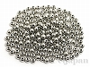3mm 銅玉ビーズ(ロジウムメッキ) 丸玉 ×約200個