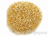 DBS-42C 1.3mmプレシションカットデリカビーズ(六角形) ×5g【金茶銀引(ゴールド)】