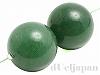 20mm 丸玉 グリーンアベンチュリン ×2個