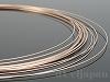 10金ピンクゴールド ナマシ線 0.35mm ×100cm K10PG(ピンクゴールド)