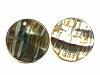 アバロンシェル15mm(穴あきコイン) ×2個