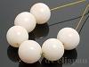 【処分価格】 ミッドウェイ珊瑚9.5〜10mm(丸玉) 6個