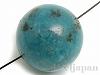 スポットジャスパー16mm(丸玉/ブルー) 1個