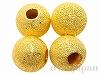 メタルビーズ12mm(ゴールドカラー) 4個