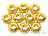 メタルビーズ6mm(ゴールドカラー) 10個