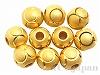 メタルビーズ5mm(ゴールドカラー) 10個
