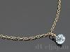 宝石質アクアマリンのネックレス