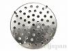アルミ製シャワー台ブローチ金具26mm(ロジウムカラー) 1個
