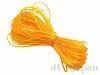 ポリウレタンゴム糸 0.7mm×8m (オレンジ)