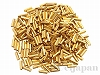 #191 6×2mm 18金メッキビーズ 2カット竹(六角チューブ) ×10g【本金メッキ】