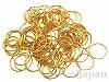 アルミ丸カン(リングパーツ) 20×1.3mm (ゴールドカラー) ×約100個