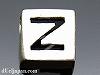 アルファベット(Z) 8mm四角 SV925