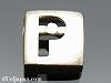 アルファベット(P) 8mm四角 SV925