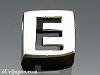 アルファベット(E) 8mm四角 SV925